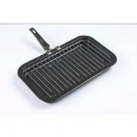 Falcon Black Enamel Mini Grill Pan - 31cm